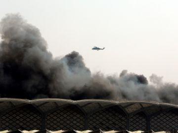 La estación de tren de Yeda del AVE a la Meca sufre un incendio