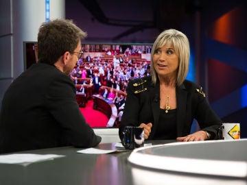 Julia Otero se posiciona en 'El Hormiguero 3.0' sobre la situación actual de Cataluña