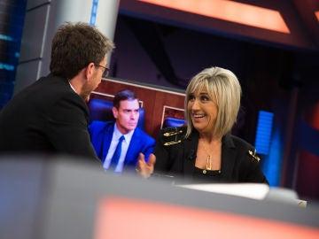 """La reflexión de Julia Otero en 'El Hormiguero 3.0' sobre nuevas elecciones: """"Han confluido líderes que no están a la altura"""""""