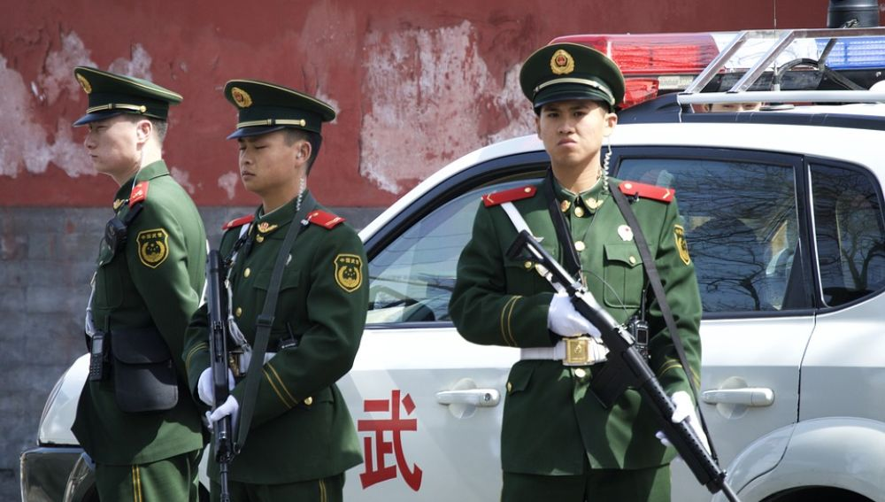Policía china (archivo)