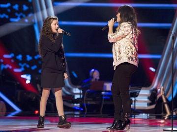 Vanesa Martín y Yara Díez cantan 'No te pude retener'