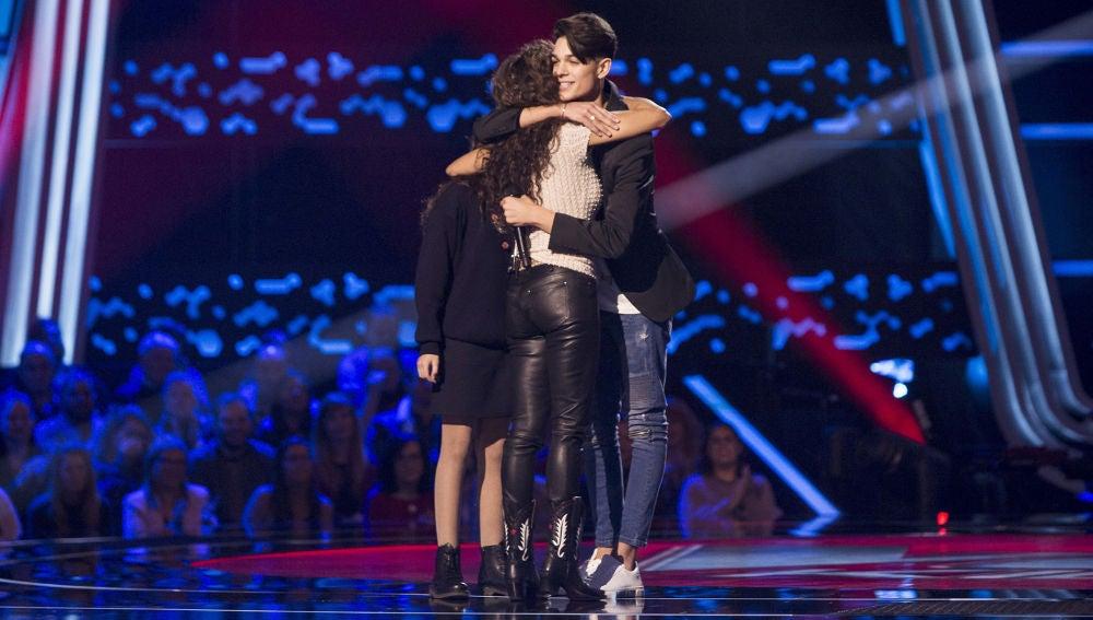 El reencuentro sorpresa entre Aray y Rosario Flores en 'La Voz Kids'