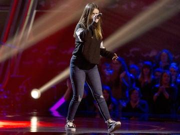 Lucía Maqueda canta 'Still loving you' en las Audiciones a ciegas de 'La Voz Kids'