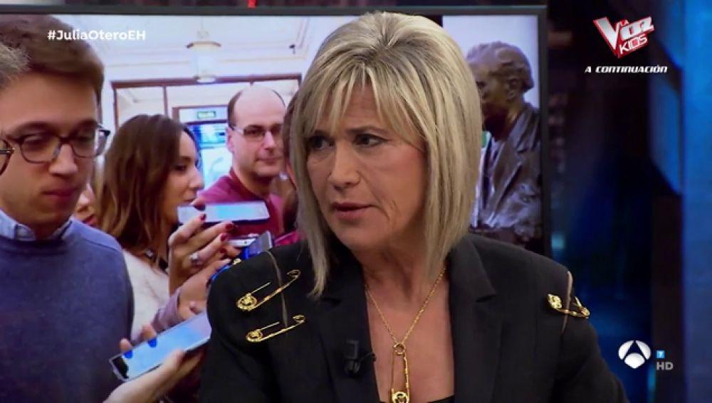 Julia Otero analiza en 'El Hormiguero 3.0' el antes y después de los partidos políticos en España
