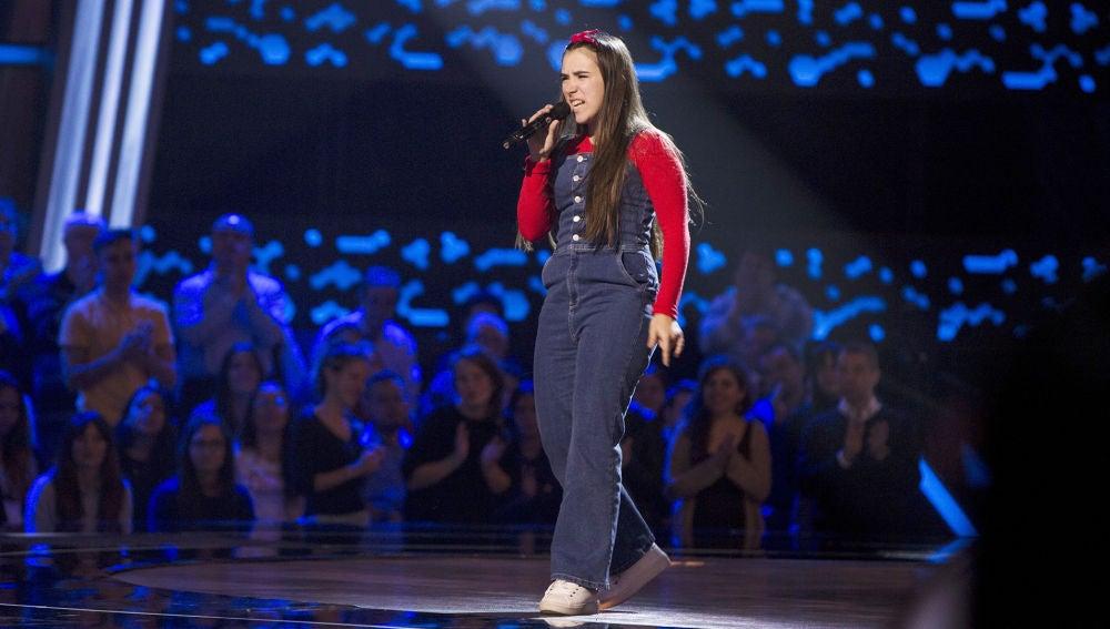 Laura Muñoz canta 'Bang bang' en las Audiciones a ciegas de 'La Voz Kids'