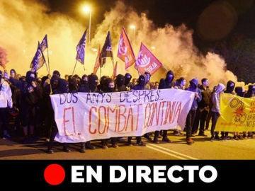 Cataluña: Última hora de los CDR y el segundo aniversario del referéndum del 1 de octubre, en directo
