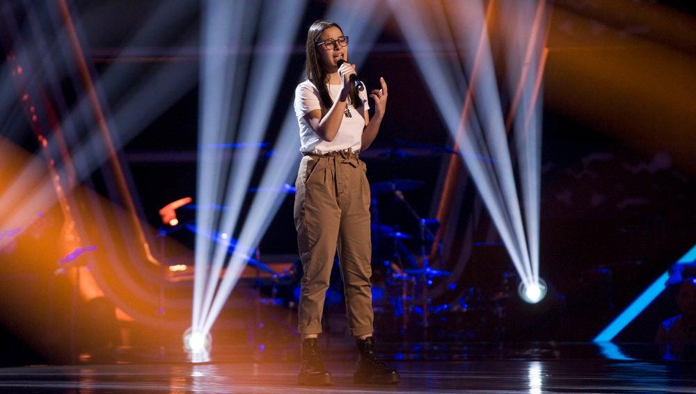 Actuación Alba Aguilar