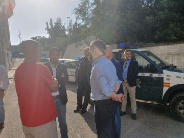 Santiago Abascal visita cuarteles de la Guardia Civil el 1-O