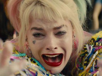 Margot Robbie como Harley Quinn en 'Birds of Prey' ('Aves de presa') donde