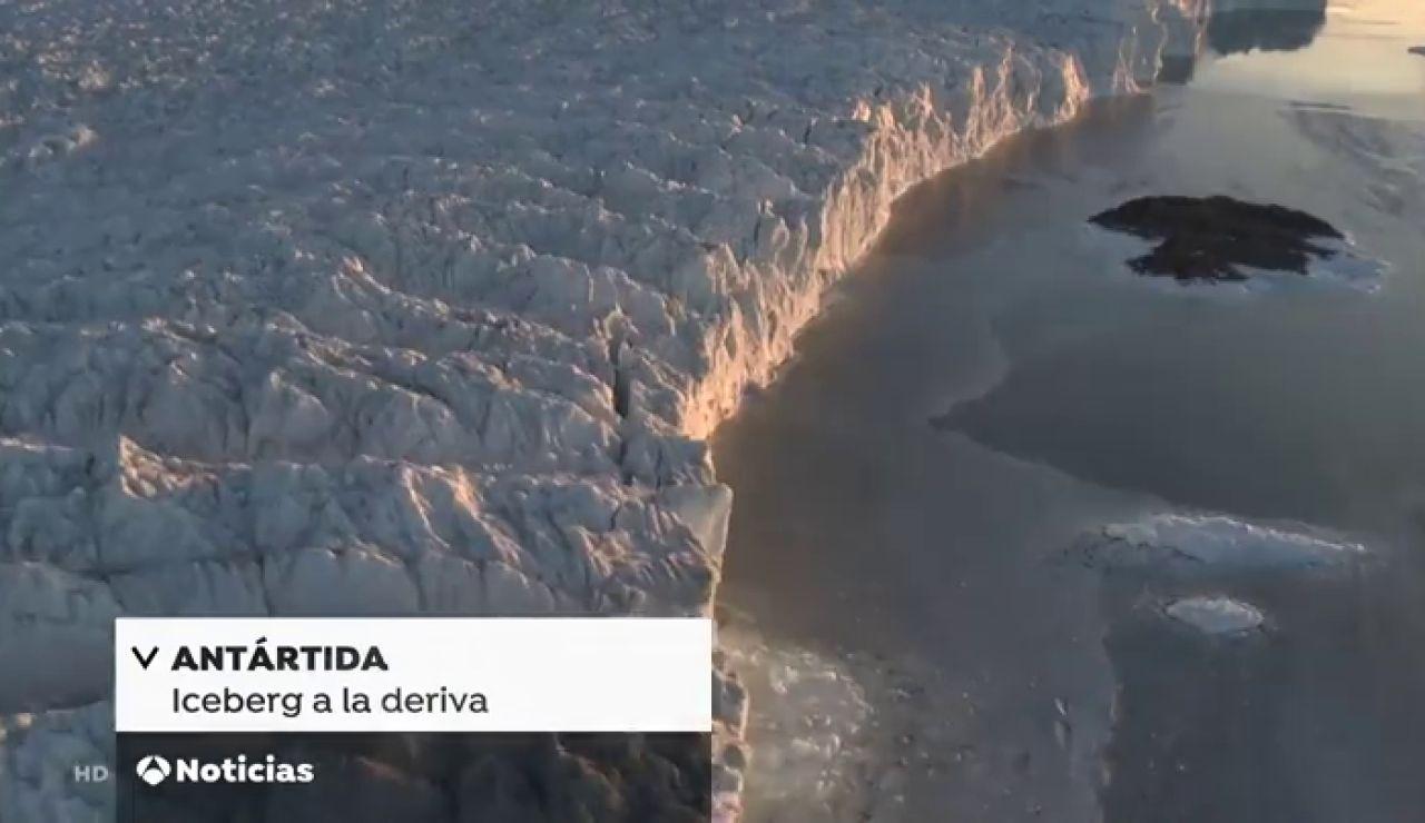 Un iceberg cinco veces el tamaño de Malta se desprende del Ártico