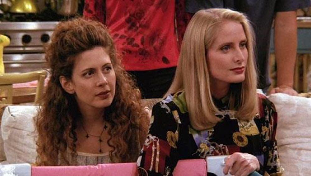 Jane Sibbett y Jessica Hecht, Carol y Susan en 'Friends'