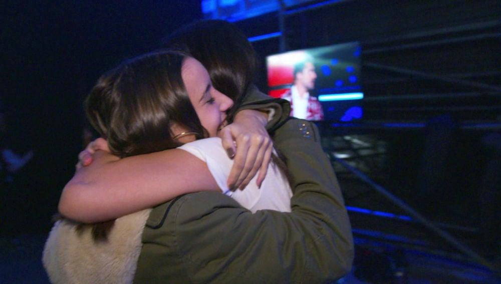 Alba Aguilar y Laura Valle, amigas inseparables desde que se conocieron en 'La Voz Kids'