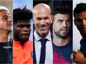 Algunos de los futbolistas que sufrieron atracos en sus casas
