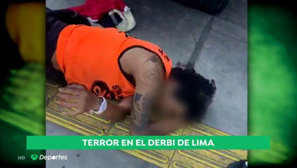 Un muerto y un herido por arma de fuego tras una pelea entre hinchas en Perú