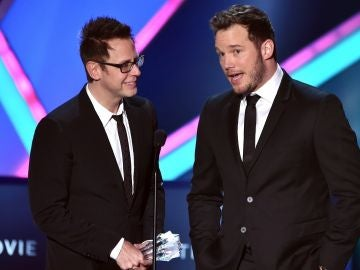 James Gunn y Chris Pratt