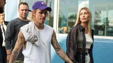 Justin Bieber y Hailey Baldwin en los inicios de su relación
