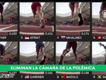 Polémica por las quejas de las atletas ante las imágenes de las 'Block Cams' en el Mundial
