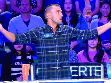 La divertida reacción de un concursante tras adivinar un panel que no entendía en 'La ruleta de la suerte'