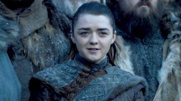 Maisie Williams como Arya Strark en 'Juego de Tronos'