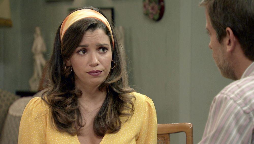'Amar es para siempre': Amelia confiesa a Marcelino que rechazó una importante oferta de trabajo por Luisita