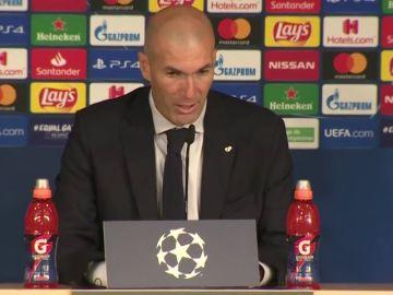 """Zidane asegura que los dos goles del Brujas son """"de risa"""""""