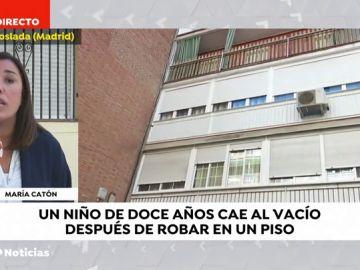 """En estado muy grave un menor de 12 años conocido como """"el niño Spiderman"""" tras caer al vacío cuando intentaba robar un piso en Madrid"""