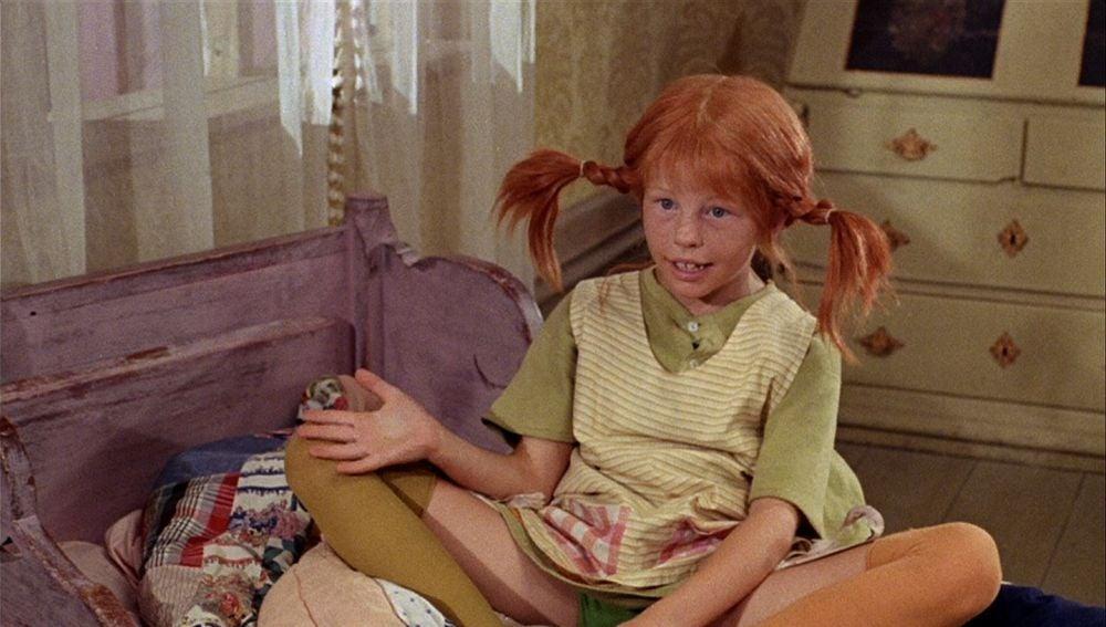 Pippi Calzaslargas interpretado por Inger Nilsson