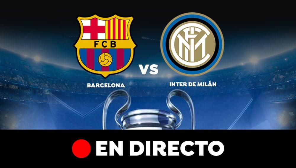 Barcelona - Inter de Milán: Resultado del partido de hoy de la Champions League, en directo
