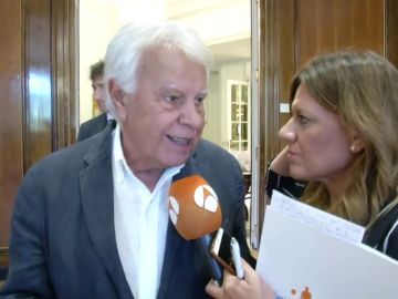 Felipe González ironiza sobre el partido de Errejón