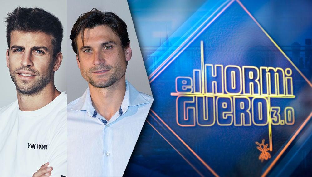 El martes 8 de octubre Gerard Piqué y David Ferrer visitan 'El Hormiguero 3.0'