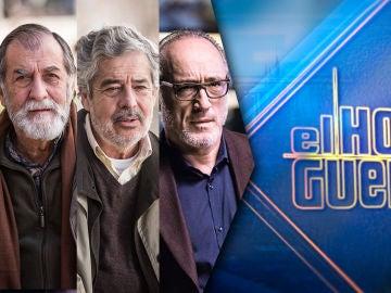 Carlos Iglesias, Roberto Álvarez y Ramón Barea visitan 'El Hormiguero 3.0'