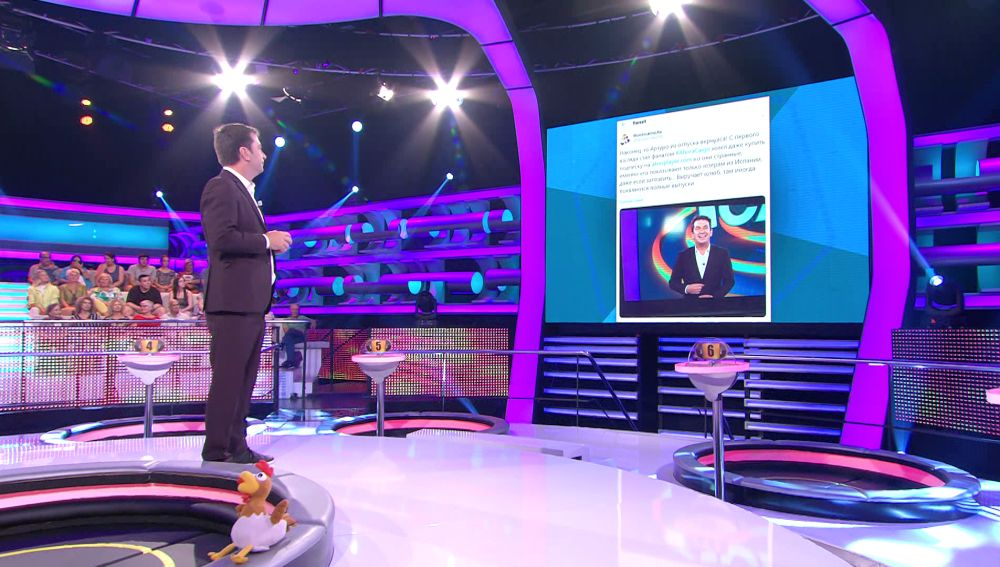 El curioso Tweet que ha conmocionado a  Arturo Valls en '¡Ahora caigo!
