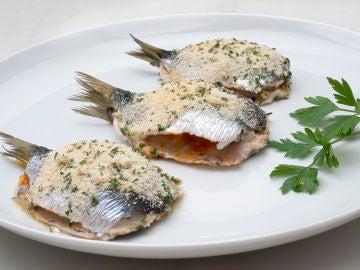 Receta de sardinas rellenas al horno