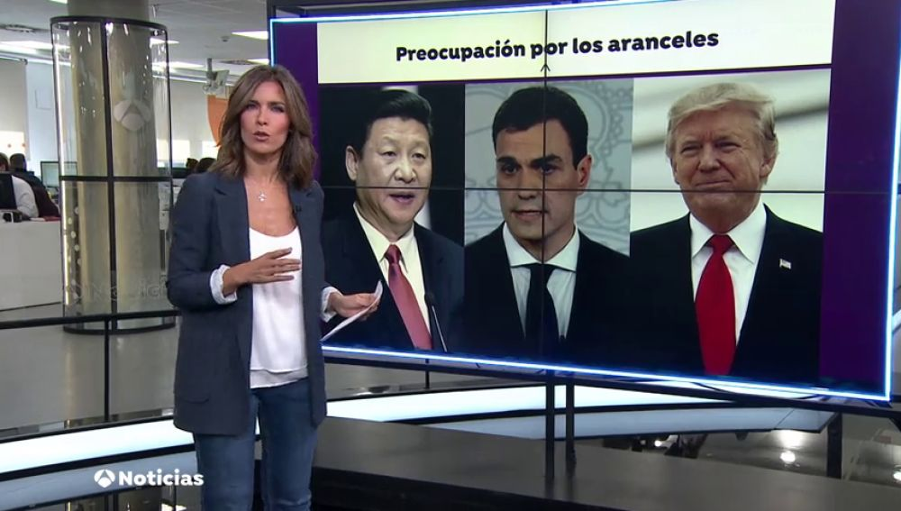Sánchez critica la irresponsabilidad de Estados Unidos y China por iniciar la guerra comercial