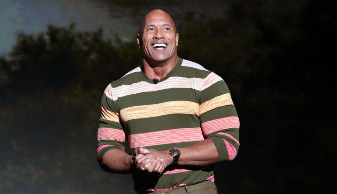 El actor Dwayne Johnson