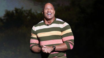 El actor Dwayne Johnson