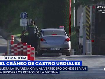 La Guardia Civil busca en el vertedero si podrían hallarse más restos de la víctima de Castro Urdiales