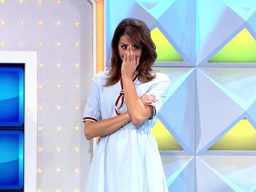 Jorge Fernández hace pasar un mal rato a Laura Moure en 'La ruleta de la suerte'