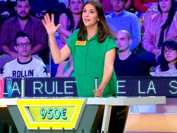 Una concursante manda callar a Jorge Fernández en 'La ruleta de la suerte'