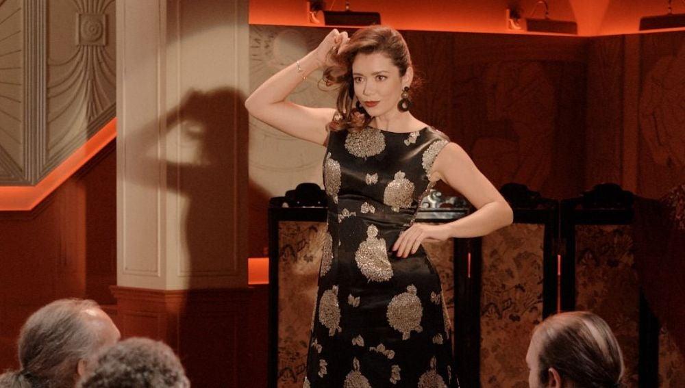Avance semanal 'Amar es para siempre': Amelia interpreta su nuevo espectáculo en el King's