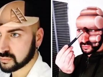 Los maquillajes de Luca Luce