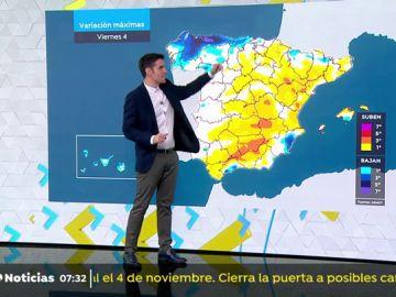 El tiempo en Antena 3