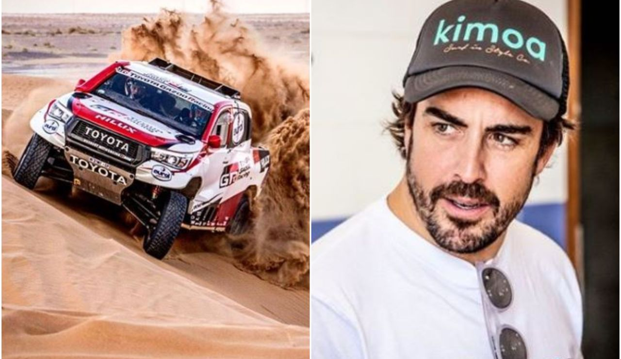 Fernando Alonso y su pilotaje extremo en el desierto de Marruecos