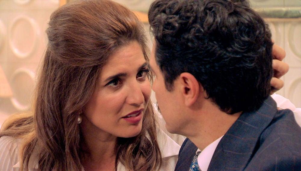 Irene y Armando se reconcilian recordando su primera noche juntos