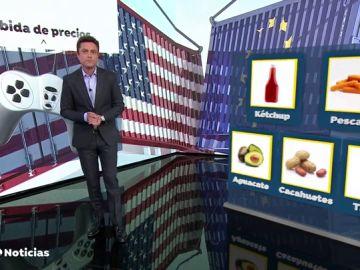 ¿Qué productos de EE.UU. nos saldrán más caros por la guerra comercial?