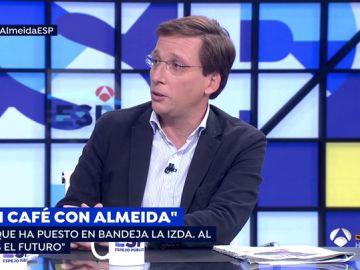"""Martínez-Almeida matiza las declaraciones de Ayuso sobre la quema de iglesias: """"No quiso hacer un guiño a Vox"""""""