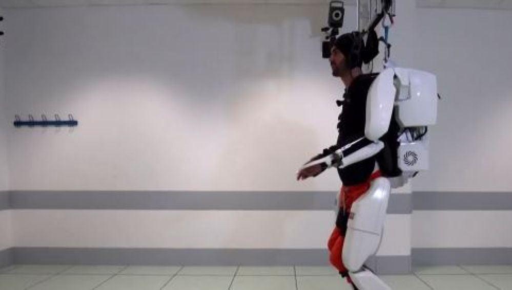 Imagen de un exoesqueleto