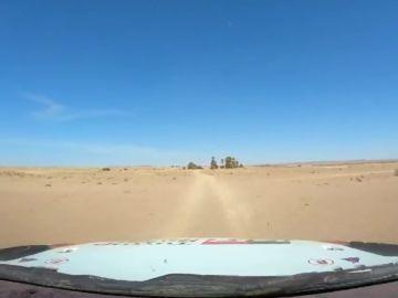 El impresionante vídeo de Fernando Alonso saltando en las dunas de Marruecos