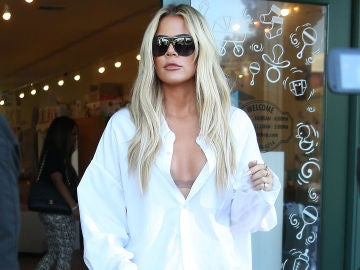 La cara de mala leche de Khloé Kardashian