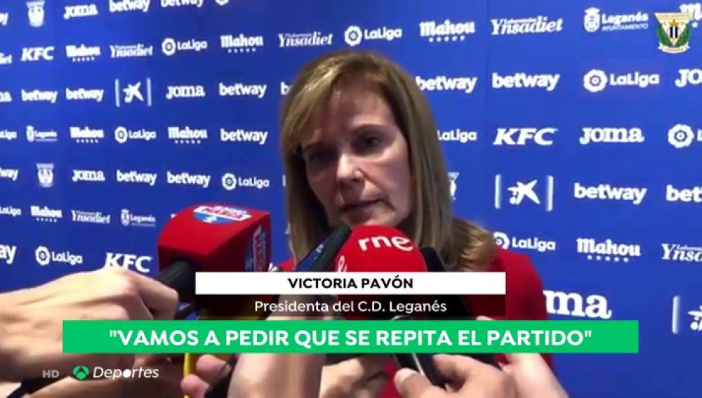 El Leganés pedirá la repetición del partido ante el Levante después de que se haya reconocido un error del VAR